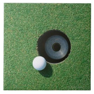 Golf 2 azulejo cuadrado grande
