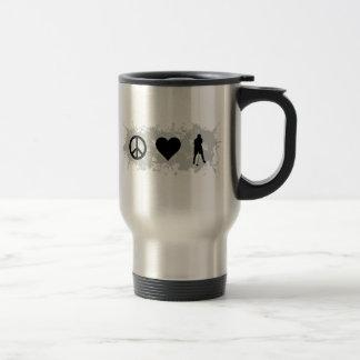 Golf 3 coffee mugs