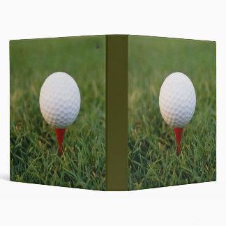Golf 3 Ring Binder