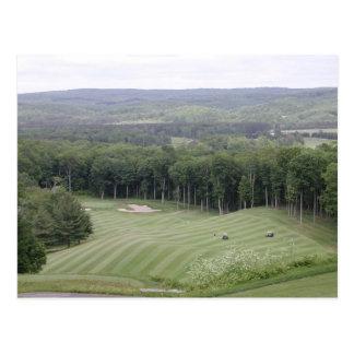 Golf (4) postcard