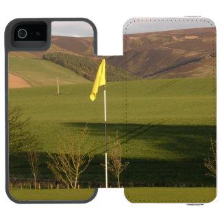 golf-9 funda billetera para iPhone 5 watson