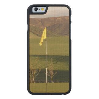 golf-9 funda de iPhone 6 carved® de arce