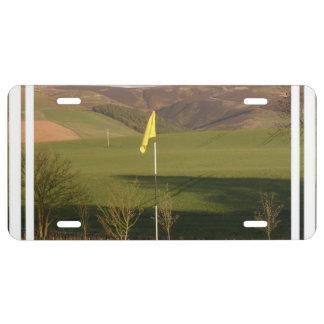 golf-9 license plate