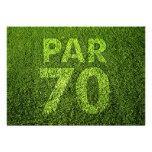 Golf a la 70.a fiesta de cumpleaños