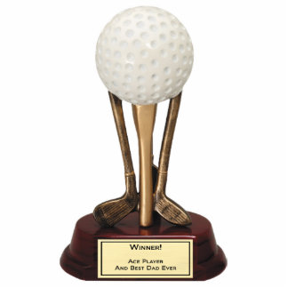 Golf Ace Player Pin Statuette