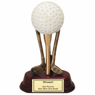 Golf Ace Player Sculpture Cut Outs