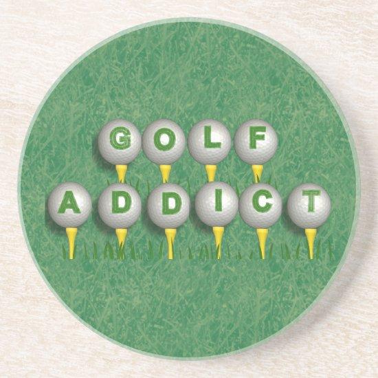 Golf Addict Coaster