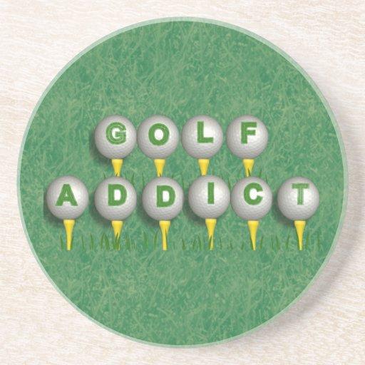 Golf Addict Coasters