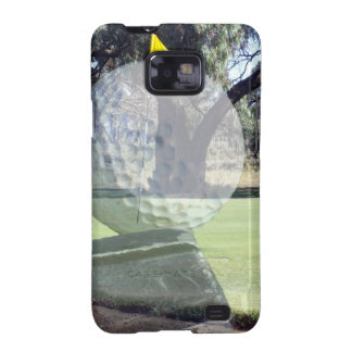 Golf_Addiction, _(de la bola y del club) Samsung Galaxy S2 Fundas