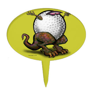 Golf Figuras Para Tartas