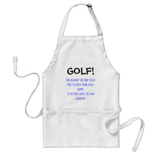 GOLF! ADULT APRON