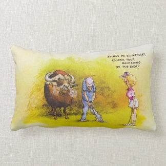 Golf Advice Lumbar Pillow