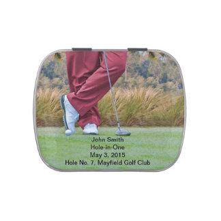 Golf Agujero-en-uno personalizable de la Frascos De Dulces