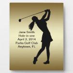 Golf Agujero-en-uno personalizable de la Placa