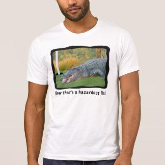 Golf, Alligator, Hazardous Lie Tee Shirt