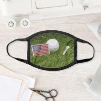 Golf America USA flag All-Over Print Face Mask