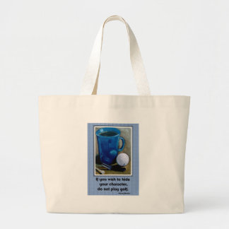 GOLF AND CHARACTER LARGE TOTE BAG