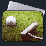 "Golf and putter computer sleeve<br><div class=""desc"">Golf and putter computer sleeve</div>"