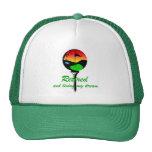 Golf and retirement mesh hat