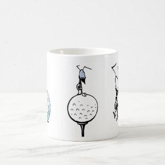 Golf Ant Comic Classic White Coffee Mug