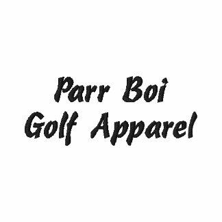 Golf Apparel™ de Boi del Parr Camiseta Polo Bordada