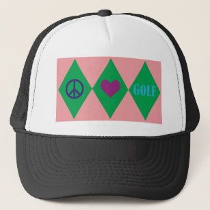 Argyle Baseball   Trucker Hats  ab0c5e7e52d