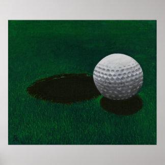 Golf Art Poster