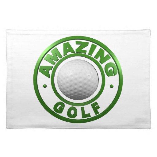 Golf asombroso manteles