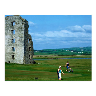 Golf at Lahinch, County Clare, Ireland in Europe Postcard