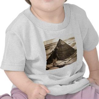 Golf at the Pyramid Sepia Toned T-shirt