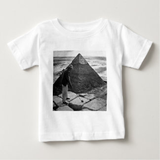 Golf at the Pyramid Vintage Black and White Baby T-Shirt