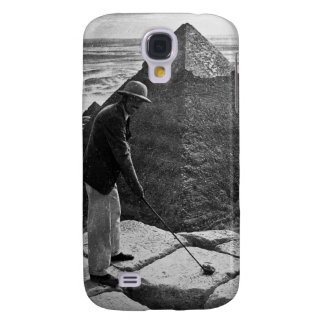 Golf at the Pyramid Vintage Black and White Galaxy S4 Cases