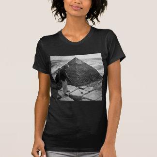 Golf at the Pyramid Vintage Black and White Shirt