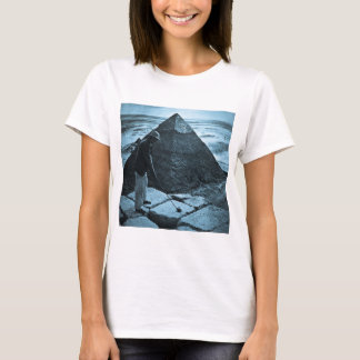 Golf at the Pyramid Vintage Blue Toned T-Shirt