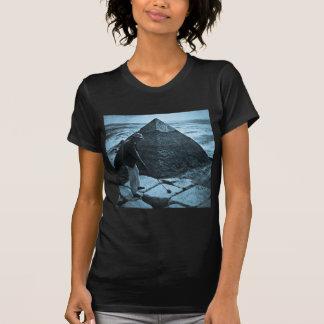Golf at the Pyramid Vintage Blue Toned Tshirts