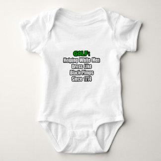 Golf Attire Humor Baby Bodysuit