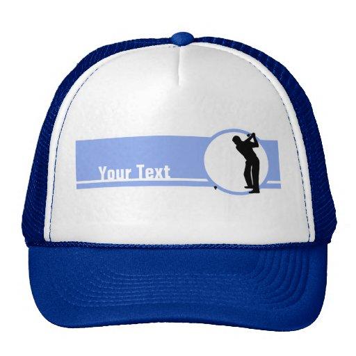 Golf; Azul Gorro De Camionero