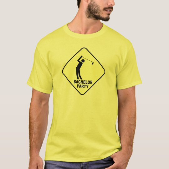 Golf Bachelor Party Groom's T-shirt