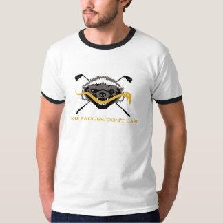 Golf Badger Don't Care T-Shirt
