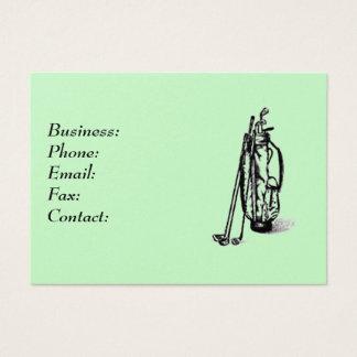 Golf Bag Business Card