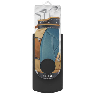 Golf Bag Design Flash Drive
