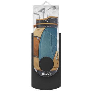 Golf Bag Design Flash Drive Swivel USB 2.0 Flash Drive