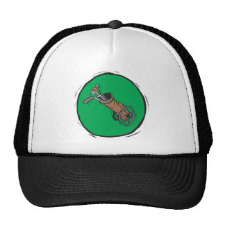 Golf Bag Trucker Hat