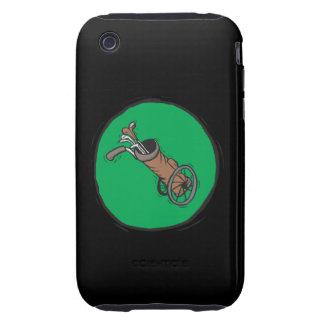 Golf Bag iPhone 3 Tough Cover