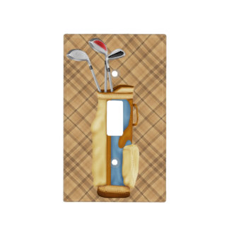 Golf Bag Switch Plate Cover