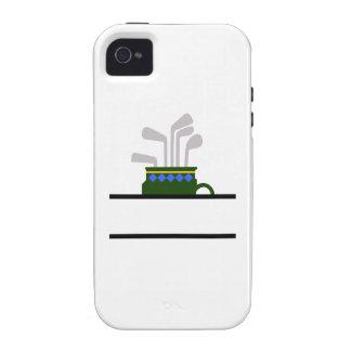 GOLF BAG NAME DROP iPhone 4/4S CASE