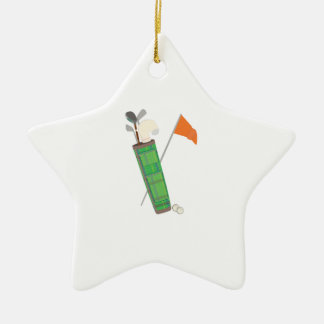 Golf Bag Christmas Ornament