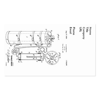 GOLF BAG PATENT 1929 - Business Cards