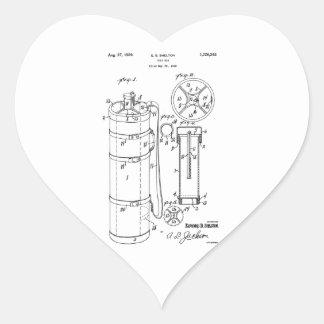 GOLF BAG PATENT 1929 - Heart Sticker