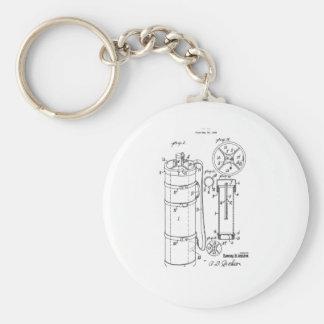 GOLF BAG PATENT 1929 - Round Button Keychain